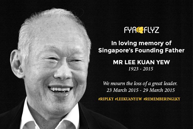 Goodbye Mr Lee Kuan Yew